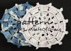 Dishcloth PATTERN 6 Washcloth Coaster Doily Hotpad | Etsy Crochet Gifts, Hand Crochet, Crochet Baby, Cotton Crochet, Pdf Patterns, Knitting Patterns, Crochet Patterns, Crochet Tutorials, Crochet Ideas
