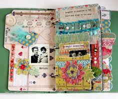 Junk journal--Smash book