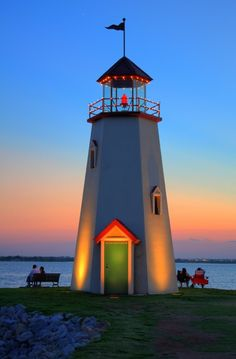 Sunset at Lake Hefner, Oklahoma City