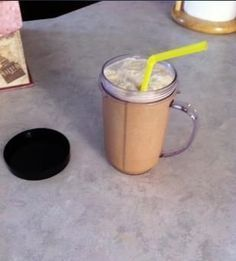 I like to drink frappuccinos, so I made a morning shake that combines coffee with slim fast powder. The powder gives it a vanilla flavor and makes it more nutritional, while the coffee makes it more like, well, a coffee! It's great! It's just like a frappe, but healthier (vitamins, protein, fiber etc).
