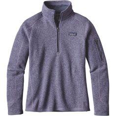 Patagonia - Better Sweater 1/4-Zip Fleece Jacket - Women's - Lupine
