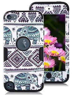 iPod Touch 5 Case,iPod Touch 6 Case,TOPSKY(TM) Thailand Elephant Tribe Pattern 3 Layer High Impact Case For Apple iPod Touch 5th 6th Generation,with Screen Protector and Stylus,(T5KKDX,Black) Topsky(TM) http://www.amazon.com/dp/B0151MQG72/ref=cm_sw_r_pi_dp_2iGrwb0HB5E7K