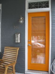 Im going to make my house this color, just so I can have this door...