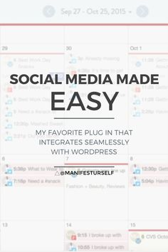 How to Make Social Media Easy to Use    If you are a new blogger looking to develop your online presence, you know that, contrary to popular belief, it can be a lot of work. Discover how you can make social media easy as 1, 2, 3!