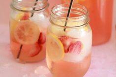 White Strawberry-Lemon Sangria