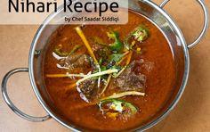 #Nihari #Recipe by #ChefSaadatSiddiqi