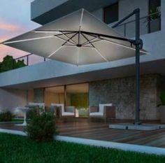 Ombrellone con led 3x3 Patio, Led, Outdoor Decor, Ebay, Home Decor, Houses, Decoration Home, Room Decor, Home Interior Design