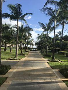 The Stunning Sugar Beach Hotel Grounds in Mauritius