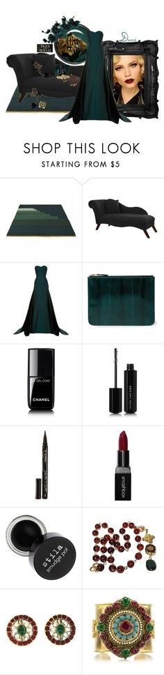 """""""Tiger in the Rough"""" by duci ❤ liked on Polyvore featuring Skyline, Zac Posen, Manolo Blahnik, Ralph Lauren, Chanel, Vanity Fair, Marc Jacobs, Smith & Cult and Smashbox"""