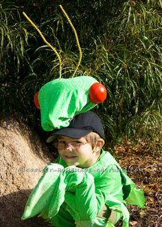 Fabulous and Original Homemade Praying Mantis Costume...