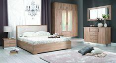 Oak Bedroom Furniture Sets Shops Ideas For 2019 Contemporary Bedroom Furniture, Affordable Modern Furniture, Modern Bedroom, Trendy Bedroom, King Size Bedroom Sets, White Bedroom Set, Oak Bedroom Furniture Sets, Italian Bedroom Sets, Nebraska