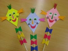 Spring Crafts For Kids, Autumn Crafts, Shapes Worksheets, Paper Flowers, Diy And Crafts, Halloween, Type 3, Techno, Facebook