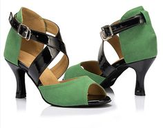 D1058 Ladies Ballroom latin dance shoes discount price dance shoes ship  worldwide 8a261bffd68c