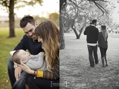 Outdoor Family Photo Session   6 month old baby   Fall Clothing Ideas
