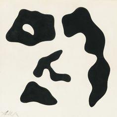 JEAN ARP, Découpages, 1961