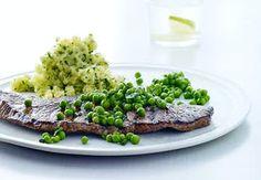 Sund aftensmad på max 30 minutter   Iform.dk Beef, Food, Meat, Eten, Ox, Ground Beef, Meals, Steak, Diet