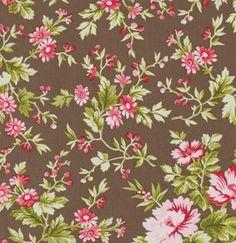 Pirouette Subtle Blooms in Mocha