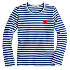 A girl can never have too many striped shirts, and the Play Des Garcons Stripe Heart Tee ($150) has an adorable yet mischievous heart decal that makes it extra special. The Japanese brand Comme Des Garcons has a huge Parisian presence, which makes the shirt feel that much more chic. It's brought to us stateside, and in three different colors, thanks to J.Crew's In Good Company. — Lisa Sugar, editor in chief