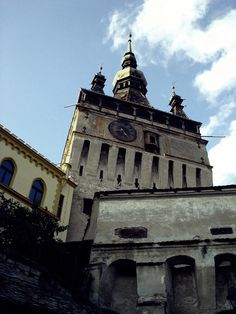Clock Tower in Sighisoara by mircea.az on YouPic San Francisco Ferry, Statue Of Liberty, Tower, Clock, Building, Statue Of Liberty Facts, Watch, Rook, Computer Case
