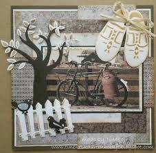 3d kaarten creatables klompen - Google zoeken Marianne Design, Vintage Tags, Ladder Decor, Holland, Images, Scrapbooking, Bicycles, Layouts, Inspiration