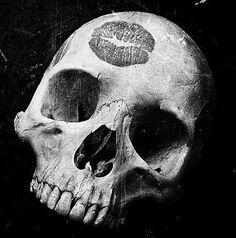 Kiss the skull, pretty girl