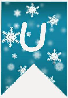 BulutsMom: Disney Frozen Temalı Doğum Günü Banner Harfleri 2 Disney Frozen, Olaf Frozen, Frozen Birthday Party, Decoration, Elsa, Alphabet, Banner, Scrapbook, Letters
