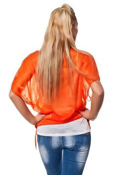 Doppel Optik Shirt mit Print