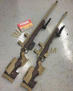 Custom Remington 700's (like from Borderlands game)