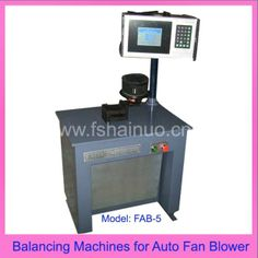 Balancing Machines for Auto Fan Blower (FAB-5) - China Balancing Machines for Auto Fan Blower, Hainuo