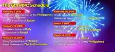 2015 Pyromusical Competition Schedule