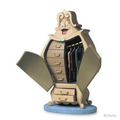 Amazon.com: Disney WDCC Wardrobe ''You'll Look Ravishing in This One'' Figurine: Furniture & Decor