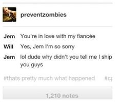 will herondale and jem carstairs moments