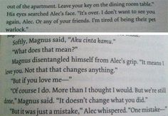 Malec breakup......hold on wile I go weep in a corner for eternity....