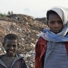 Boys on the refuse dump near Bahir Dar, Amhara region, northern Ethiopia. © Miikka Järvinen 2010.