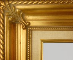"""Beautiful Picture Frame! Perfect For Artwork, Photographs, Canvas Paintings, Oil Paintings, Watercolor Paintings, Acrylic Paintings, Portraits, Wedding Pictures, Diplomas, Family Photographs & More. Classic Gold Linen Beaded 3.25"""" Wide Picture Frame."""
