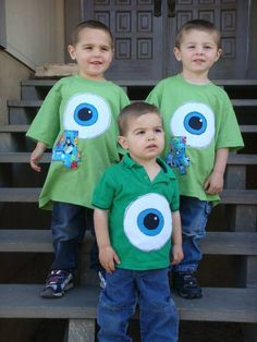 monsters inc party in January - could we make the teen volunteers wear t-shirts like this a hard hats?