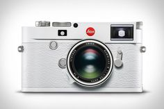 While most of the Leica family proudly bears an all-black appearance, the newest member of the crew is clothed fully in white. In addition. Leica Camera, Nikon Dslr, Camera Gear, Film Camera, Gopro Photography, Landscape Photography, Portrait Photography, Wedding Photography, White Camera