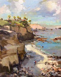 Michele Usibelli,  Laguna Beach Plein Air Painting Invitational 19