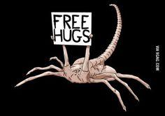 Oh cool, a free hugggg!