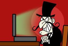 Does anyone remember Snidely Whiplash,    The wicked cartoon Villain,