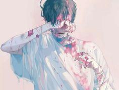 Anime Boy || Crying | Depressed