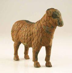 Graeco-Roman Bronze Ram  Origin: Syria Circa: 100 AD to 200 AD