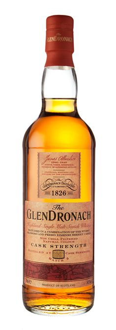 GlenDronach Cask Strength Single Malt Whisky available from Whisky Please.