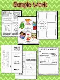 Second Grade Nest: Christmas Around the World Unit!