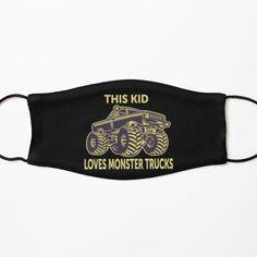Monster Truck Birthday, Monster Trucks, Funny Face Mask, Love Monster, Birthday Gifts For Kids, Mask For Kids, Girl Gifts, Boys, Girls