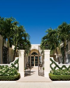 An Updated English Regency Decor Provides An Understated Backdrop For The Owners' World-Class Art Collection In This Stunning Palm Beach Renovation