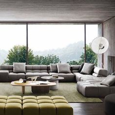 #sofa #B&BItalia Tufty Time design love this sofa, could we use a piece somewhere- in dining area perhaps?