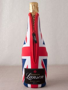 """Champers has slipped into something more comfy...  Lanson - """"Union Jack"""" Brut Black Label Champagne"""