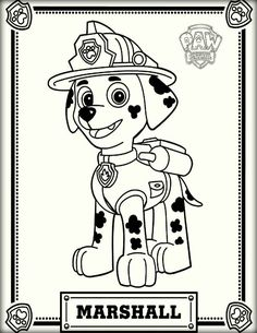 paw patrol everest coloring pages printable and coloring book to print for free find more coloring pages online for kids and adults of paw patrol everest - Marshall Paw Patrol Coloring Page