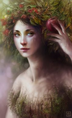 Within the Orchard by ~escume on deviantART